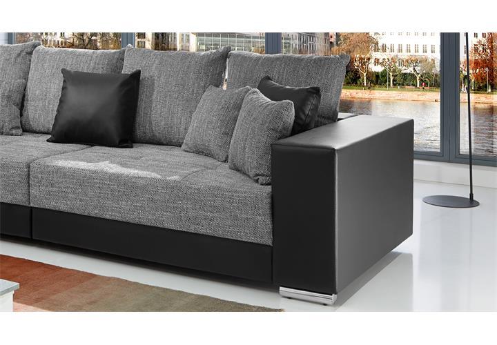Bigsofa Adria Big Sofa Wohnzimmer XXL Couch Stoff mit