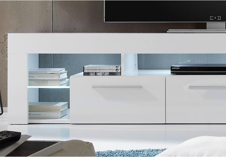 Sideboard Hngend Wei Cool Awesome Hochglanz Sideboard
