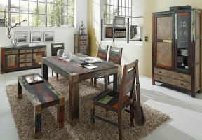 Esstisch 160x100 GOA von Wolf Möbel in Massivholz Mango