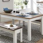 Esstisch Yase Kuchentisch Tisch In Pinie Hell Artisan Eiche 160 220 Cm