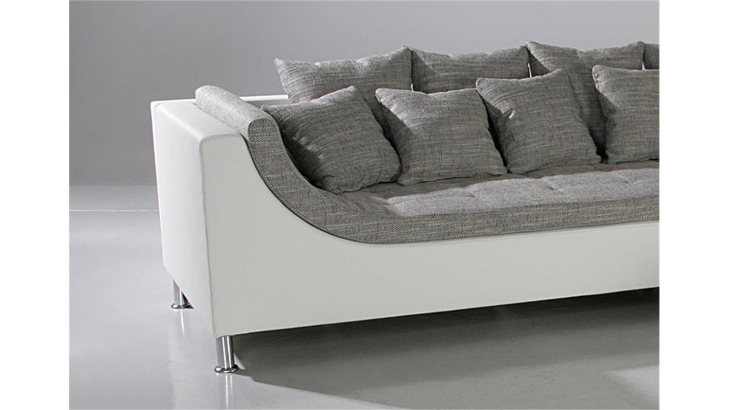 Sofa Grau Ottomane Eckcouch Wei Grau Latest Interesting Large Size Of Sofa Grau Weis