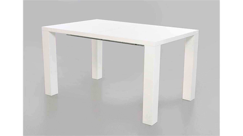 tisch wei ausziehbar massive landhausm bel 136 tisch wei platte kolonial. Black Bedroom Furniture Sets. Home Design Ideas