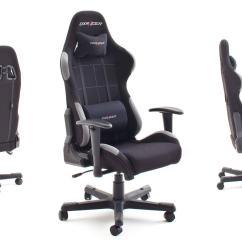 X Racer Chair Teak Dining Room Chairs For Sale Bürostuhl Dx 5 Game In Stoff Schwarz Grau