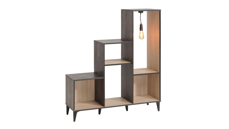 Regal Mit Beleuchtung Full Size Of Bucher Rustikal Holz