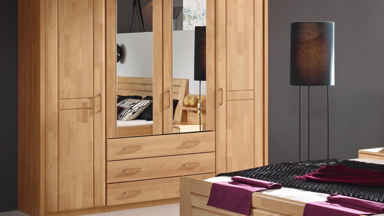schlafzimmer natur schlafzimmer sitara schrank bett nachtkommode in erle