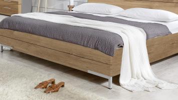 Bett LONDON Futonbett für Schlafzimmer in Plankeneiche ...