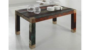 Esstisch 160x100 Tisch GOA Massivholz Mango Wolf Möbel