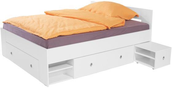Bett Azurro 140x200 Weiss Online Kaufen Mobelix Startseite Design
