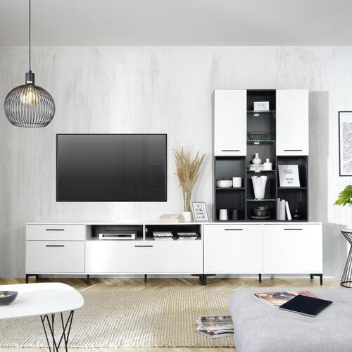 Wohnwand in Weiß   Jetzt Online bestellen
