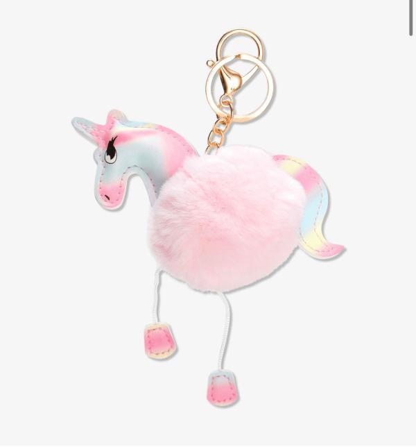 Unicorn nyckelring