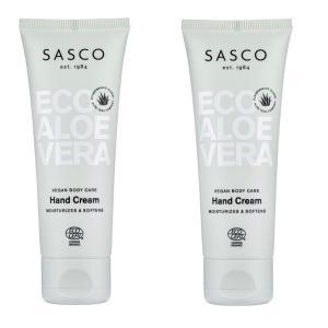 2 pack Sasco Eco Hand Cream 75 ml