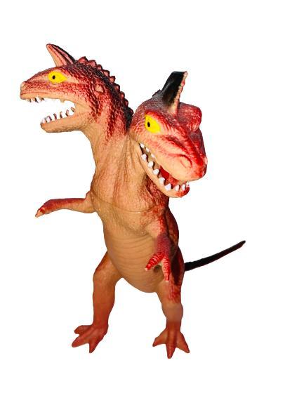 Dinosaurie med två huvuden