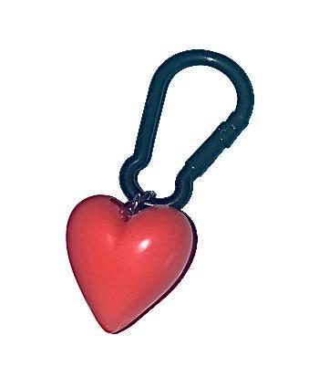 Nyckelring / väskaccesoar Hjärta