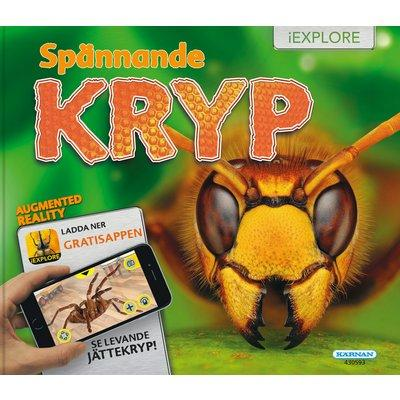 "Bok ""Spännande kryp"" iExplore 3D inbunden"