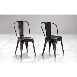 Nella vasta selezione di tavoli e sedie mondo convenienza troverai sempre offerte attive: Sedie Nere Industrial Bogota Mondo Convenienza
