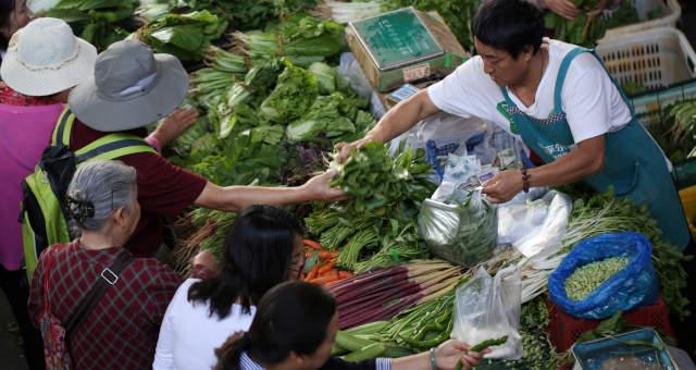 Ásia Alimentos Feira Consumo