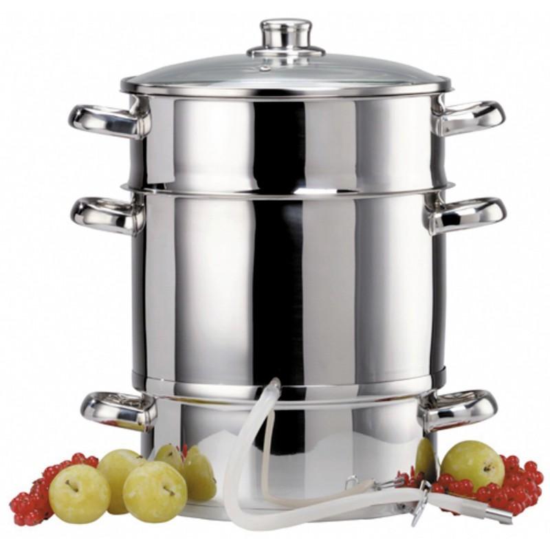 extracteur a jus de fruits ou legumes a vapeur baumalu diametre 260 mm