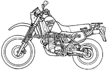 Motorradreifen für APRILIA Motorräder