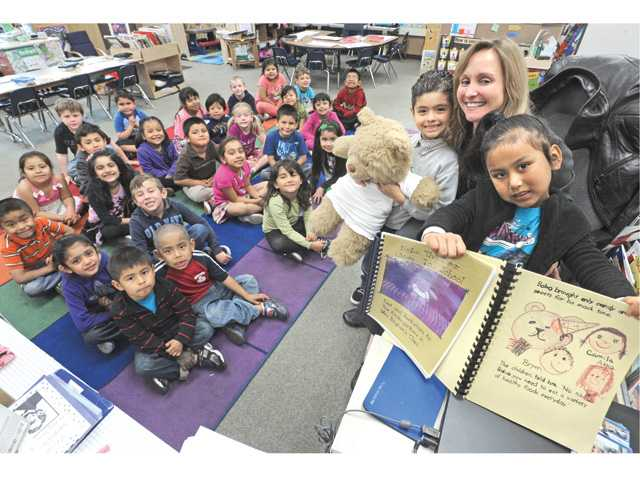 newhall peachland students win