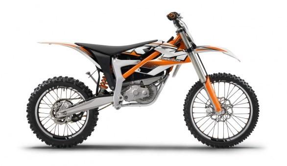 KTM presenta la Freeride E, la prima moto elettrica di serie.