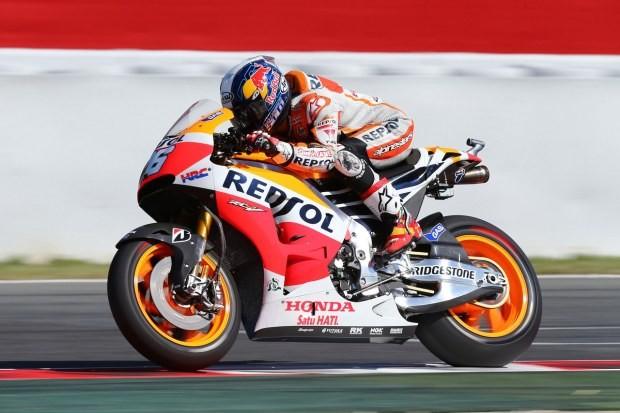montmelo-honda-2014-q2-5 - Márquez cai, e Pedrosa é pole no GP da Catalunha. Lorenzo é 3º; Rossi, 5º