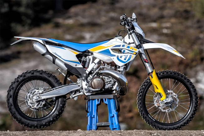 The 2014 Husqvarna TE300 enduro entry.