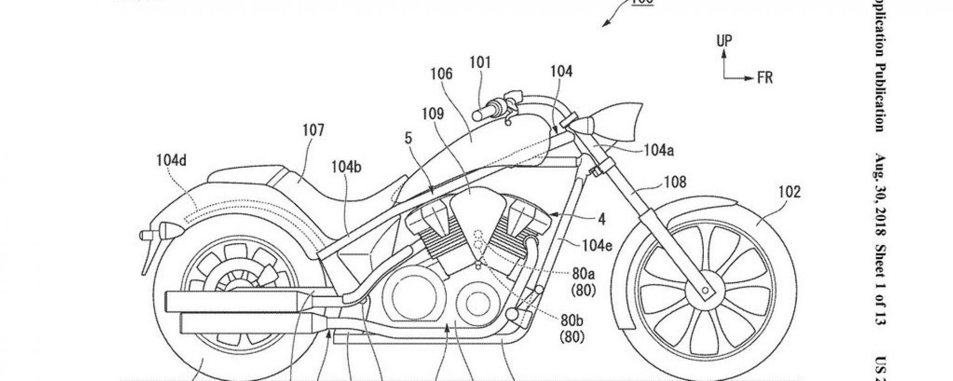 Honda Fury DCT: depositato il brevetto negli USA. Arriverà