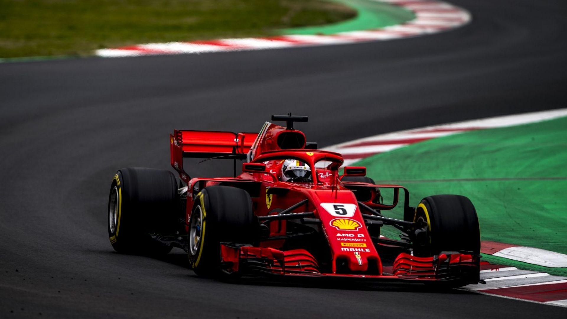 Track Car Wallpaper F1 2018 Test Barcellona Tutte Le Foto Della Ferrari
