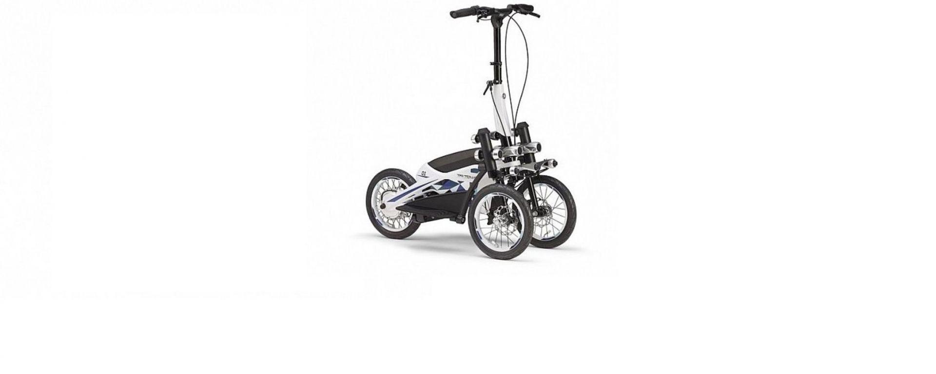 Yamaha TriTown: il monopattino elettrico a tre ruote