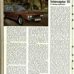 Jensen Interceptor Wiring Diagram Gibson Pickup For 1974 Cadillac