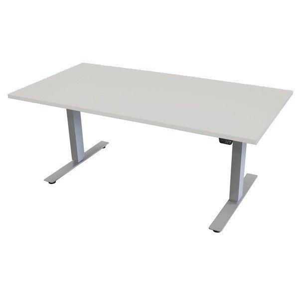 Höj och sänkbart skrivbord Ekoflex Elbord 160x80 Vit Vitt