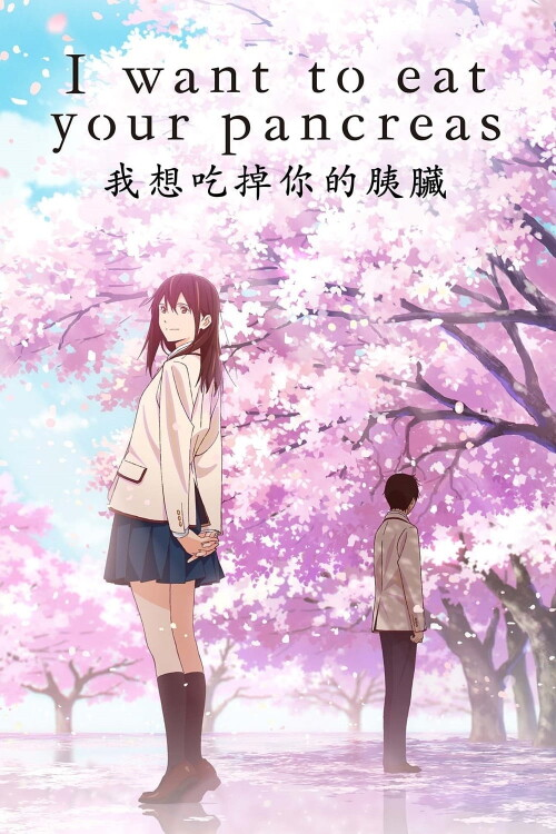 Anime, i want to eat your pancreas, haruki shiga, sakura yamauchi, hd wallpaper · keywords: I Want to Eat Your Pancreas (2018) - Watch Online | FLIXANO