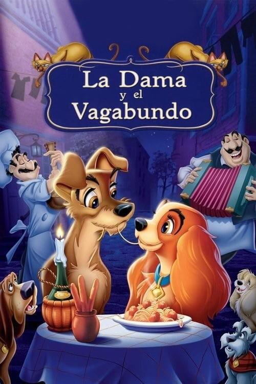 Ver La dama y el vagabundo (1955) Online Gratis