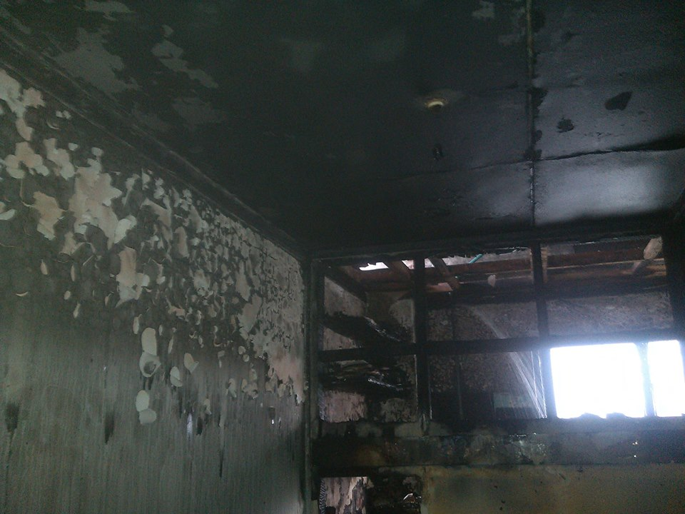 Check Out More Photos From The Building On Fire Near Nation Center Yesterday  Mpasho News