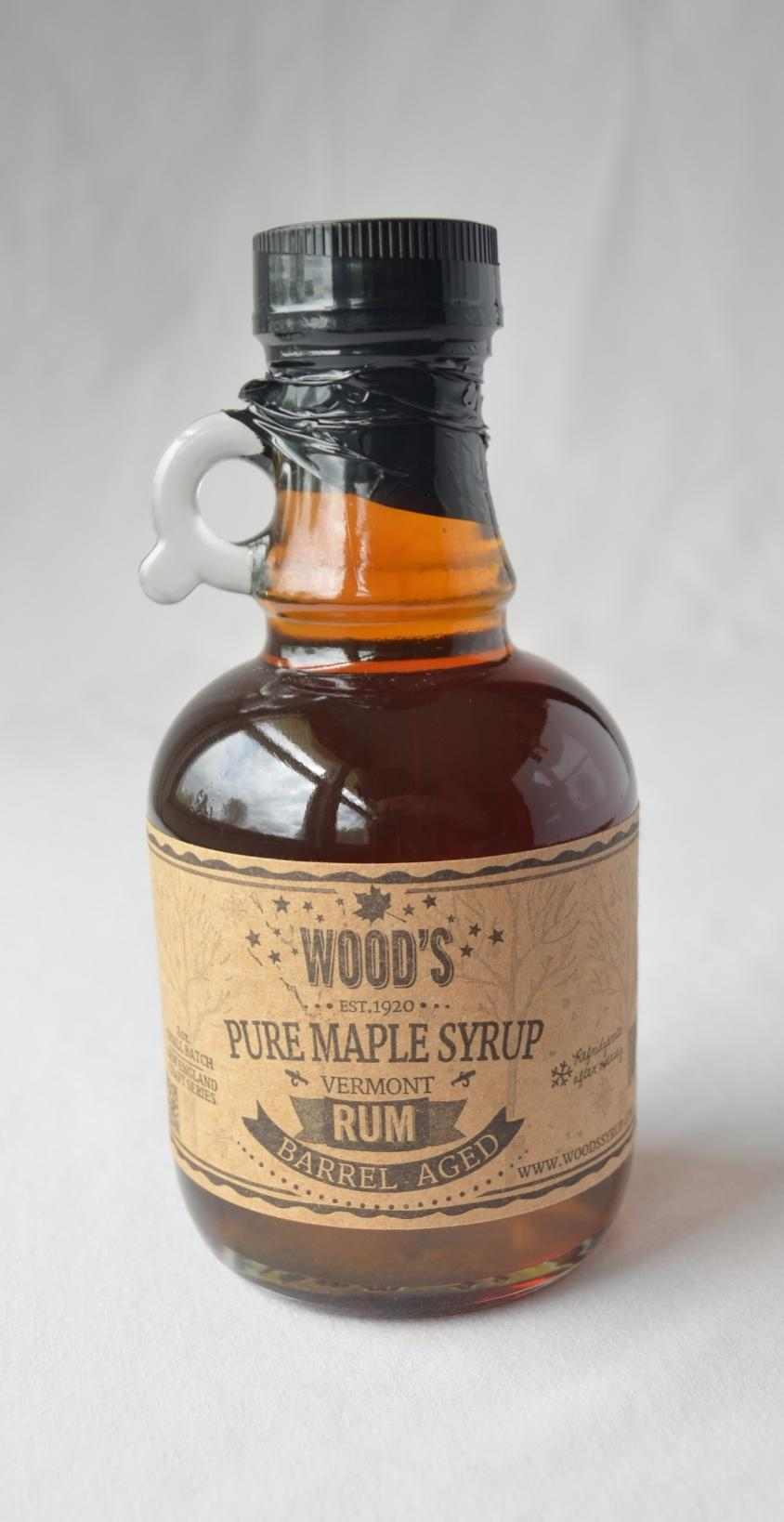 Rum Barrel Aged Syrup by Woods Vermont Maple Syrup