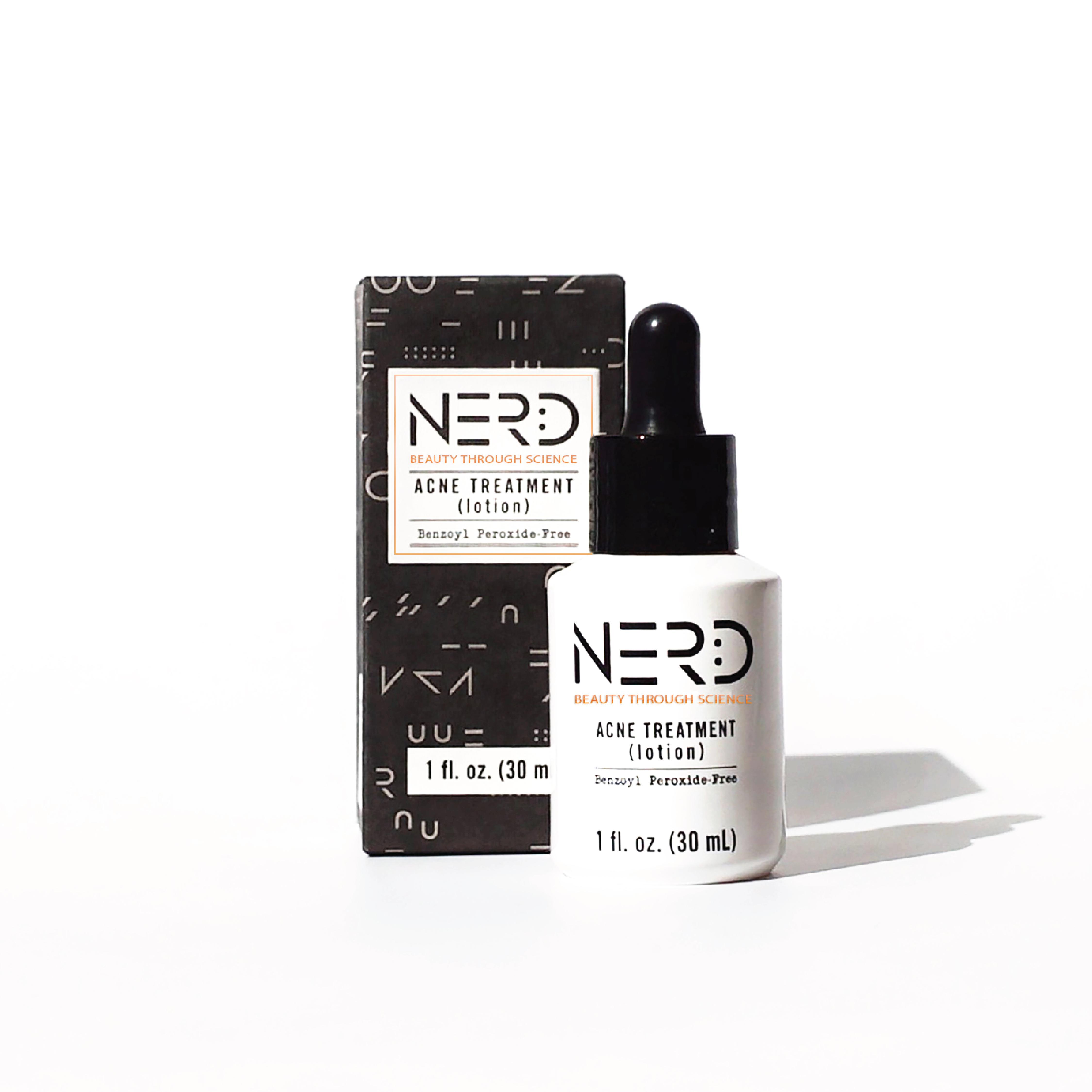 NERD Acne Treatment Lotion by NERD Skincare  Musely