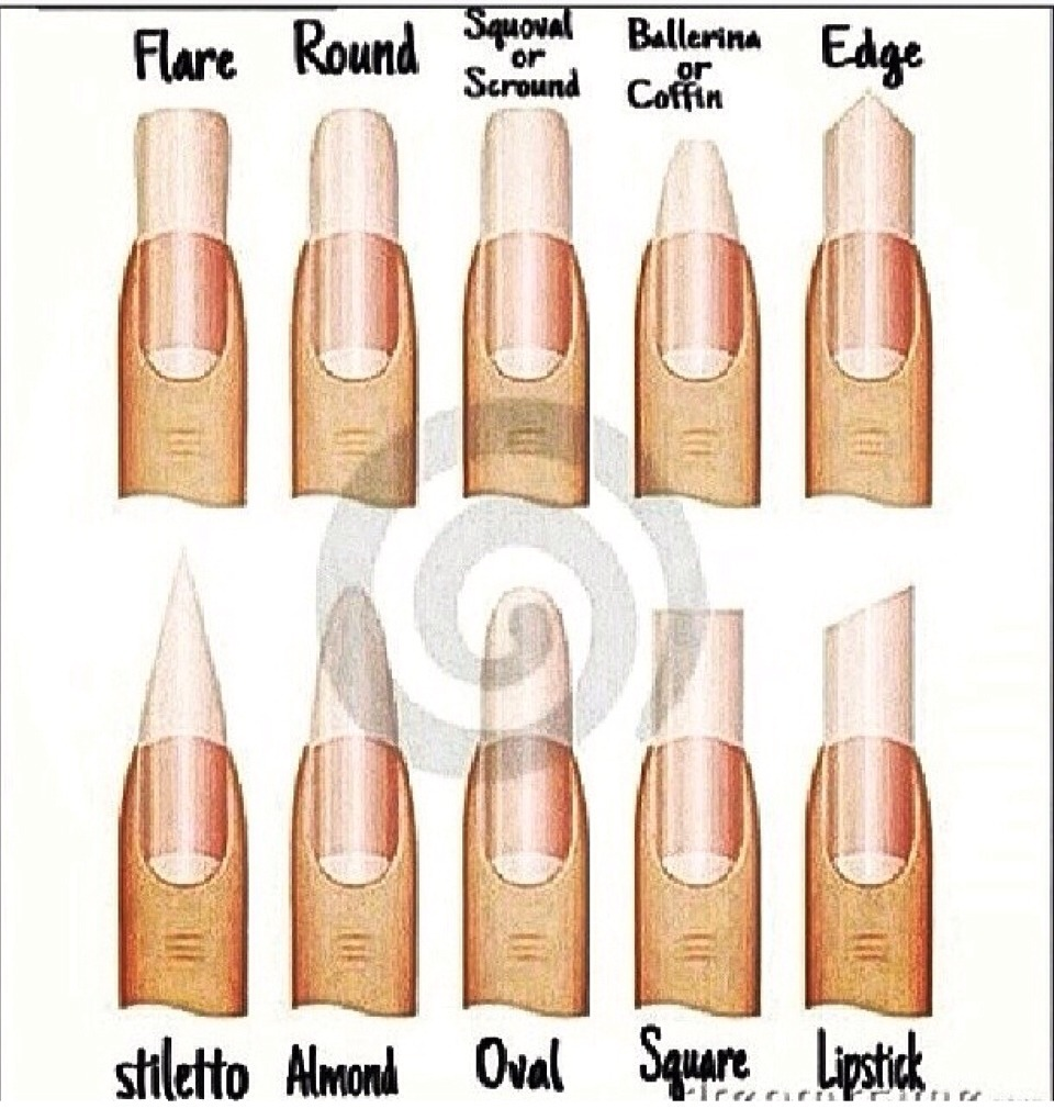 Different Nail Types by AC Clark - Musely