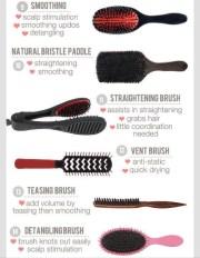 ultimate hair brush guide