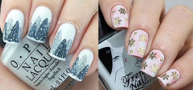 25 Winter Nail Art Designs Ideas