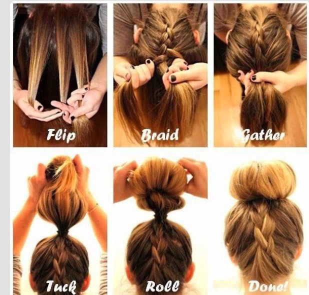 Quick And Easy Hairstyles To Do Yourself Easy Casual Hairstyles