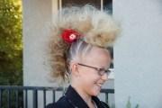 crazy hair ideas- check