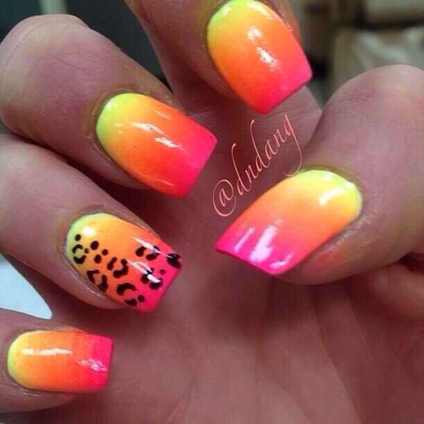 Simple Nail Designs For When The Warmer Weather Es Around Please Like And Save