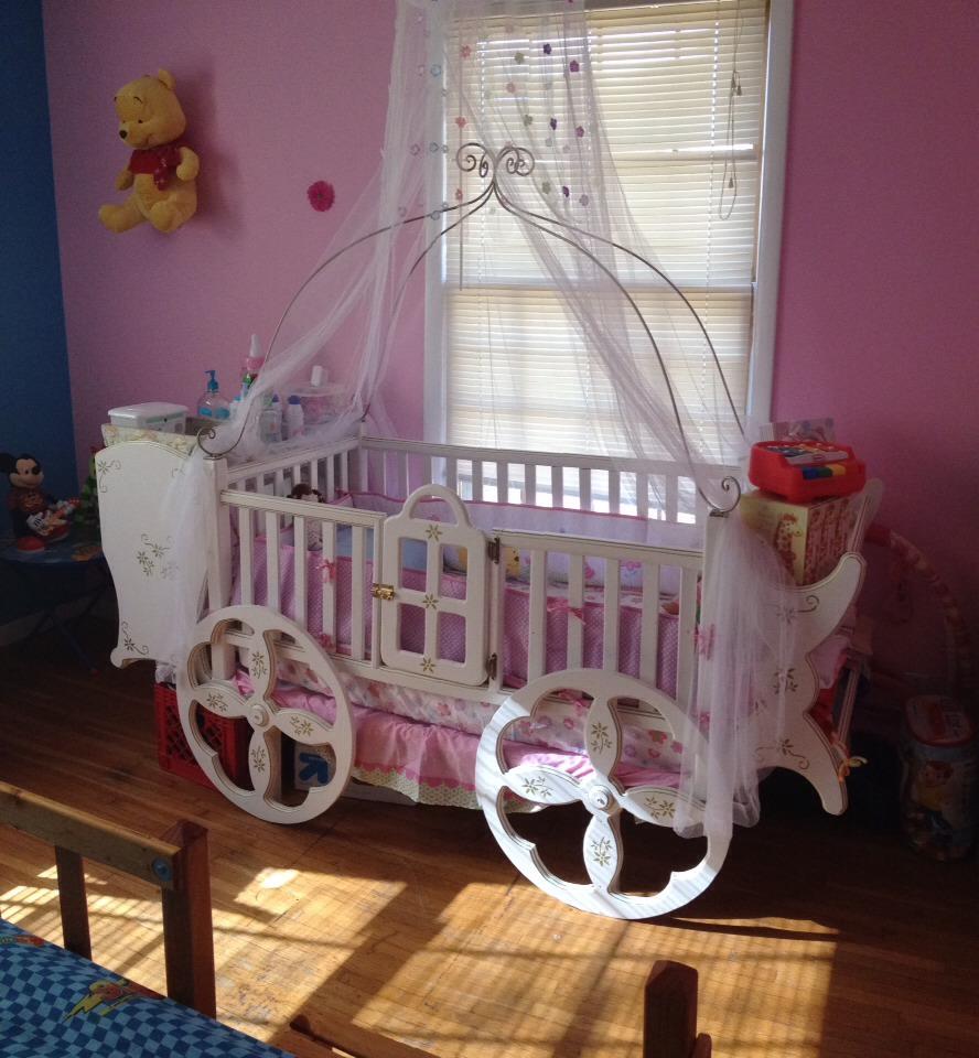 princess crib for a