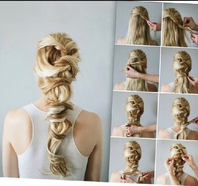 18 easy and cute hairstyles to go step-by-step by farinaz
