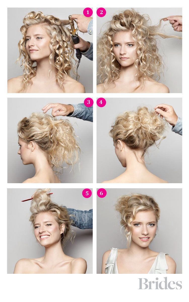 Diy Wedding Hairstyle A Romantic Updo So Pretty By
