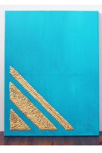 DIY Thumbtack Wall Art - Musely