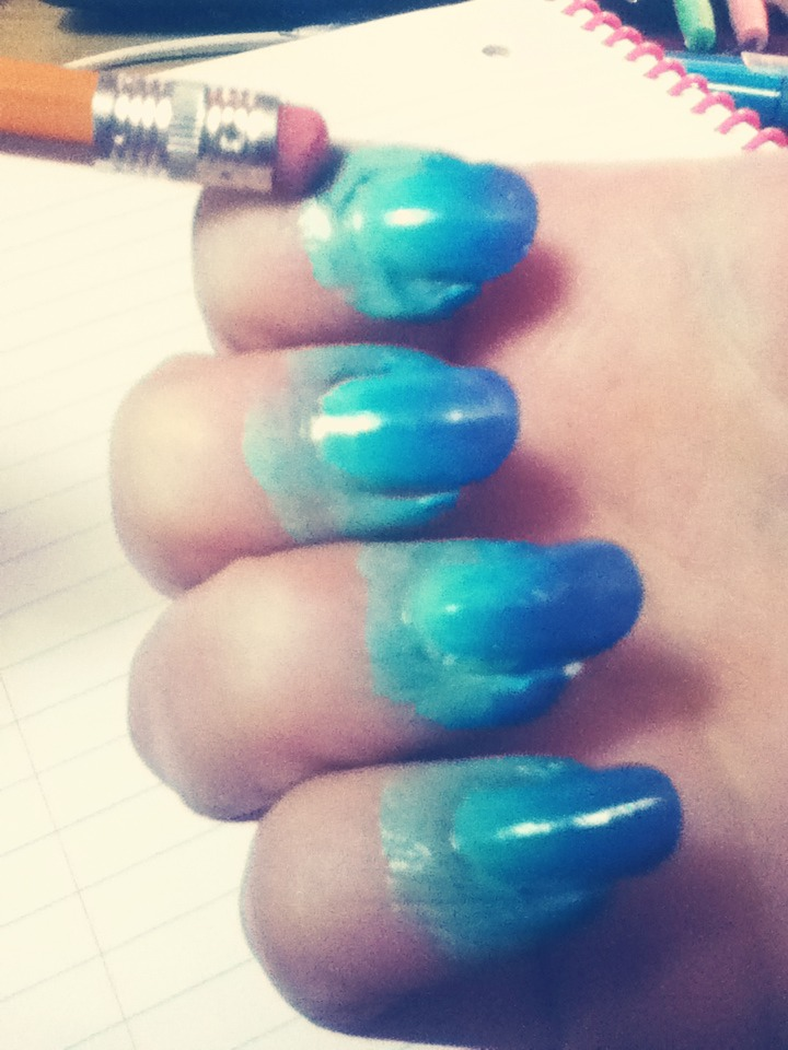 Doing Nail Art Like Ombré Nails Can Get Messy So Save