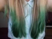 ketchup green hair princess