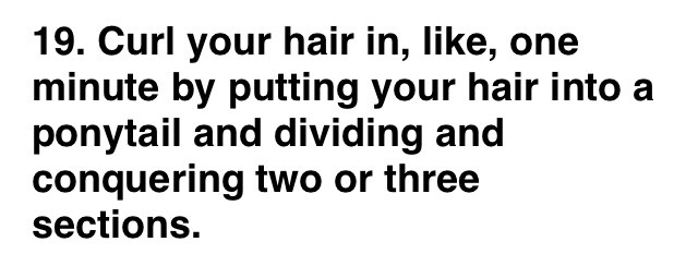 27 Tips And Tricks To Get The Perfect Ponytail! by Lindsay