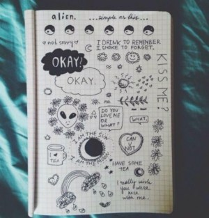 doodles grunge easy drawings drawing notebook hipster doodle simple meaningful bad google musely inspire matter awesome draw trusper vada kumihimo